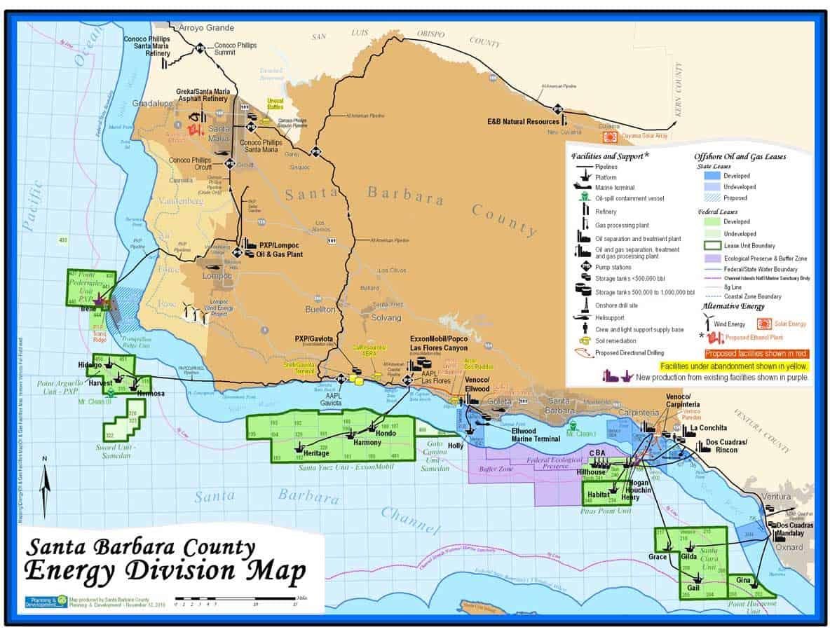 California Offshore Oil Platforms : Oil rigs channel islands dive adventures llc