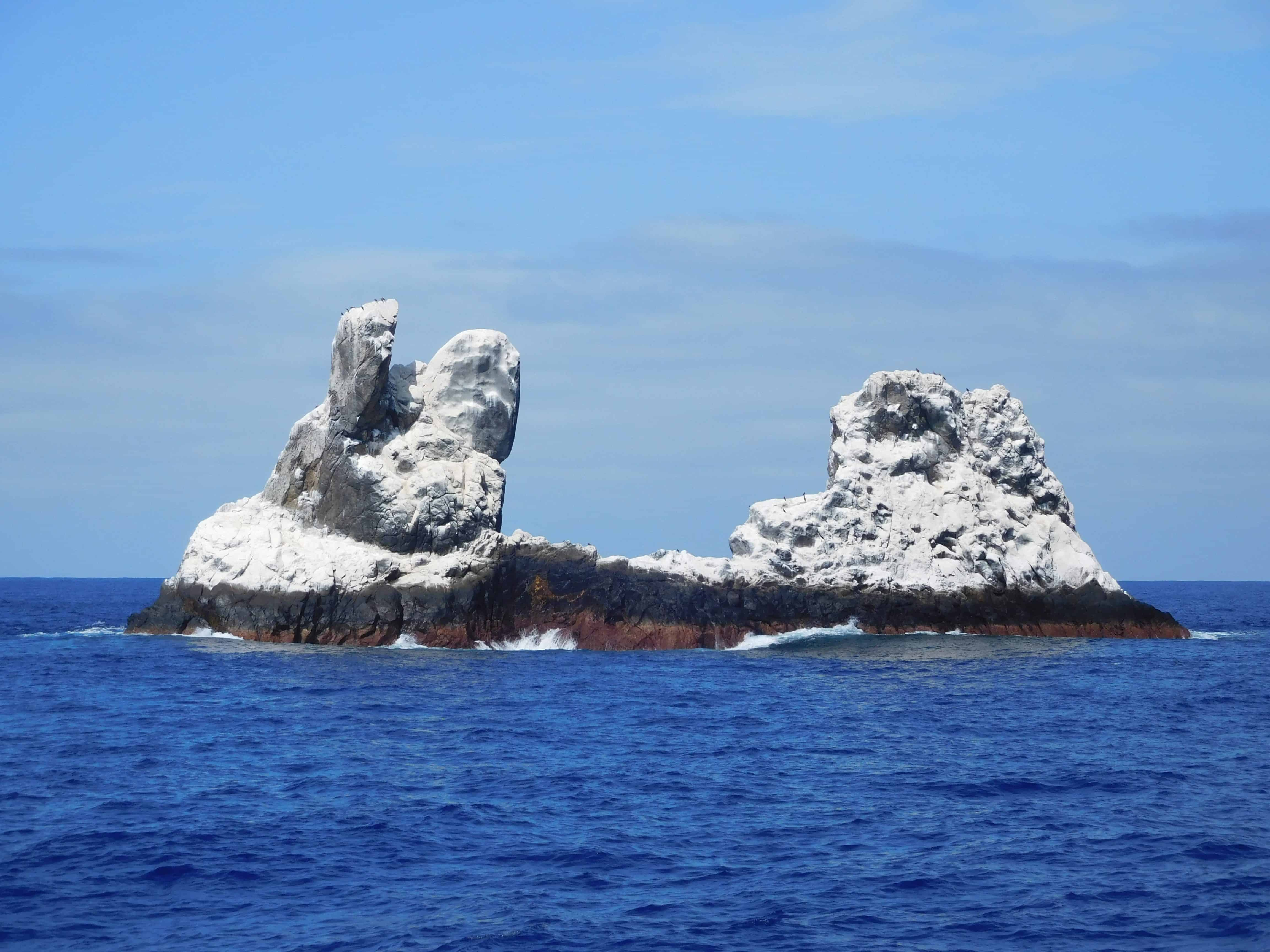 Roca Partida on our Channel Islands Dive adventures Socorro trip aboard the Nautilus Explorer
