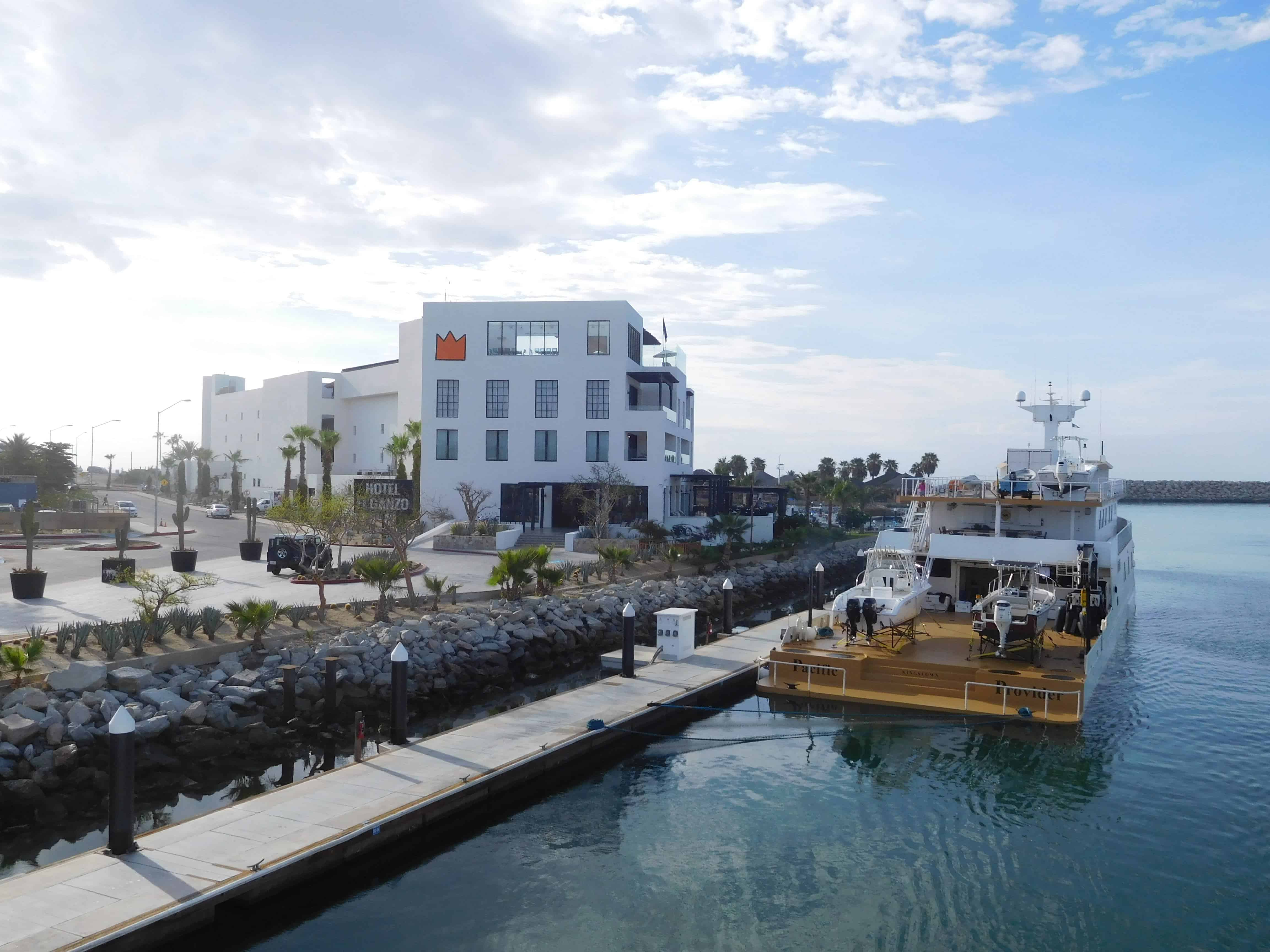 The port of Jose Del Cabo at the end of our Channel Islands Dive Adventures trip aboard the Nautilus Explorer to Socorro