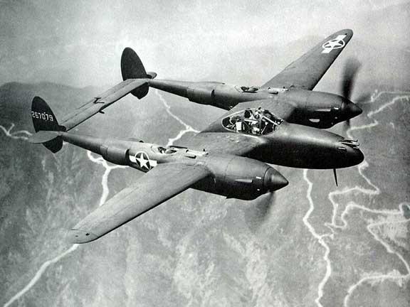p38-flying