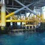 oil rig wreck