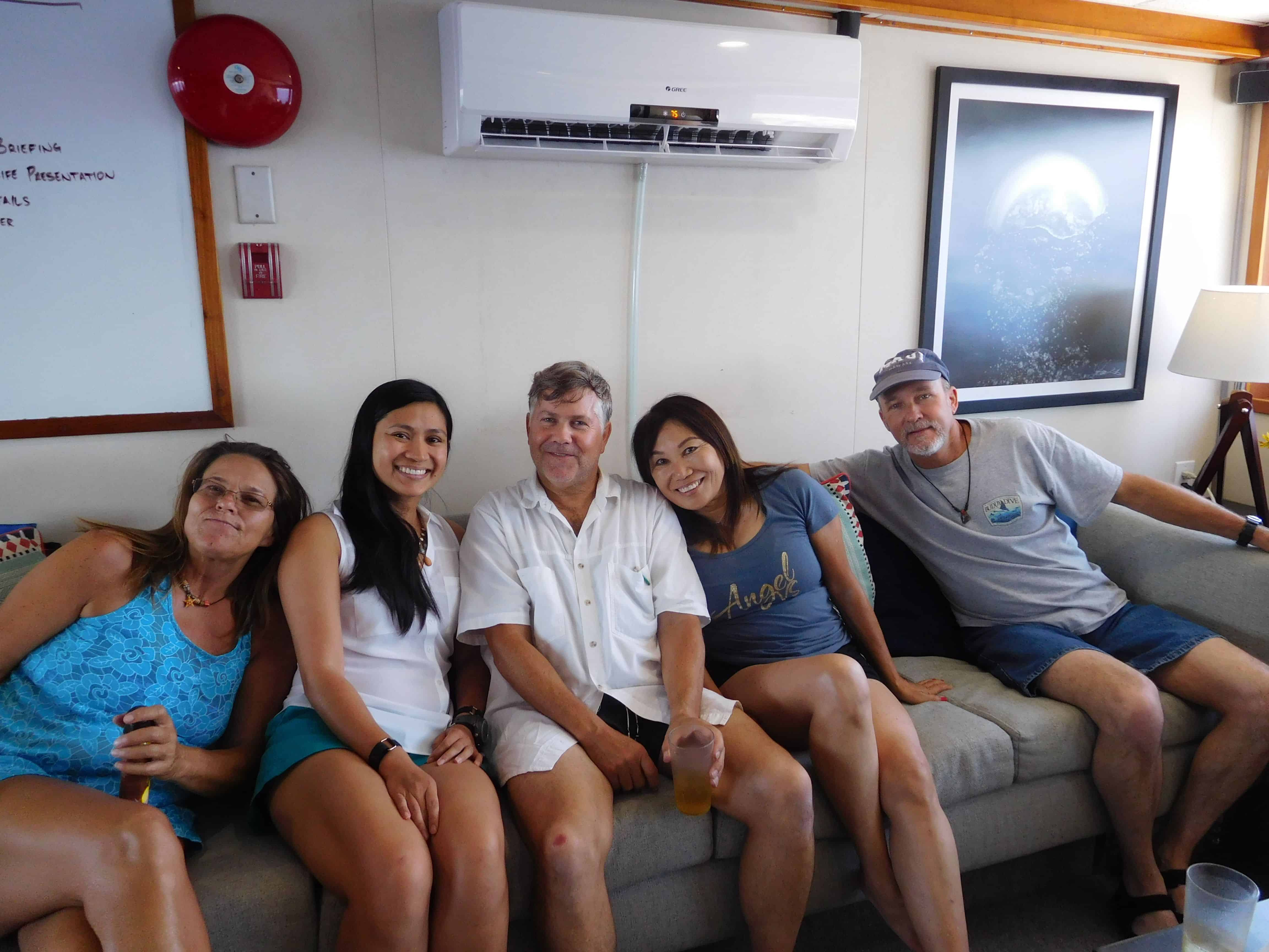 Fun times on our Channel Islands Dive adventures Socorro trip aboard the Nautilus Explorer