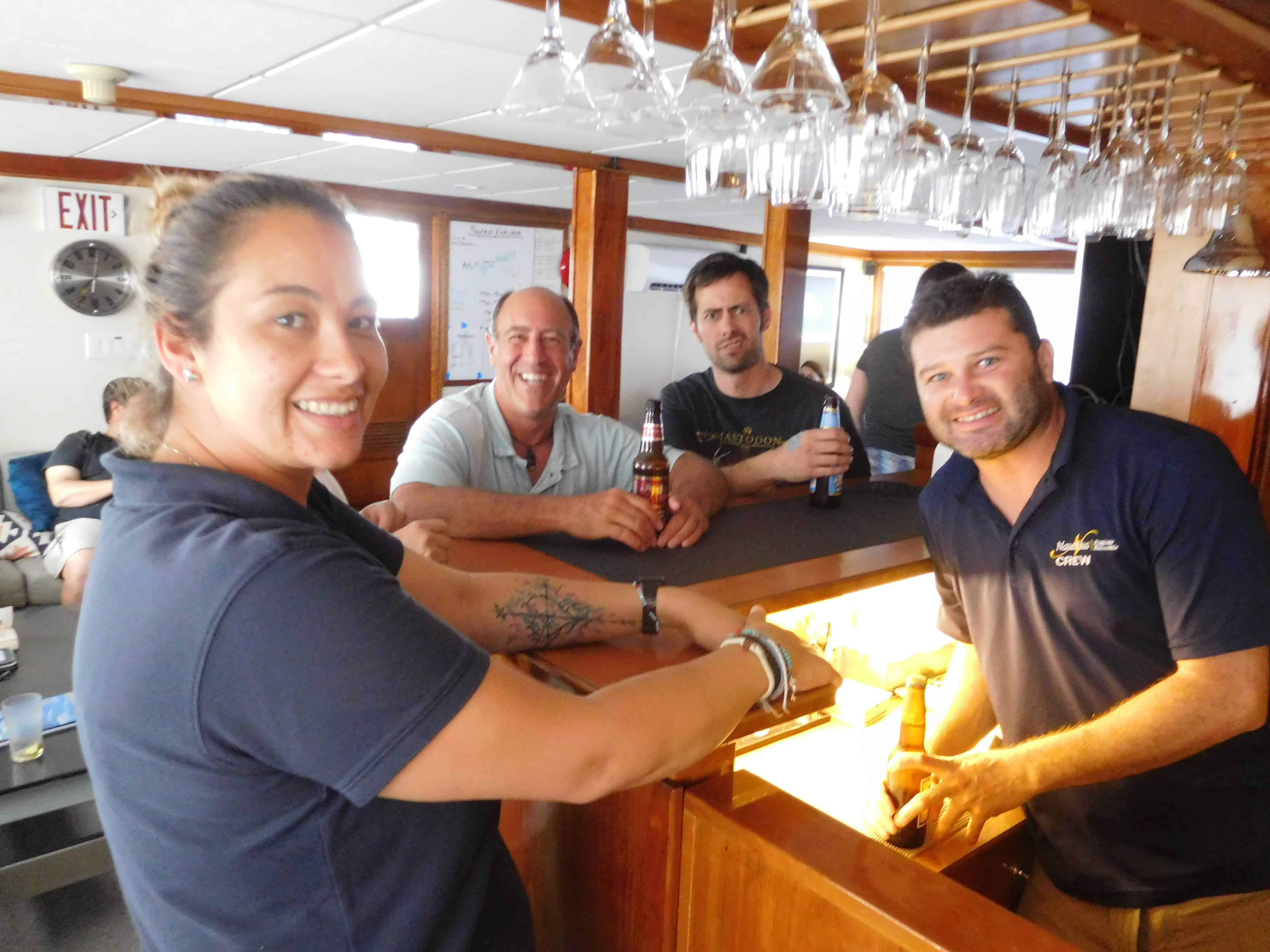 Fun times on the Nautilus Explorer on our Channel Islands Dive adventures Socorro trip