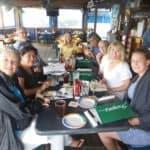 cida group at restaurant
